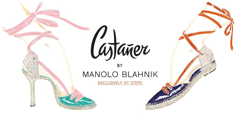 New In: Castaner by Manolo Blahnik