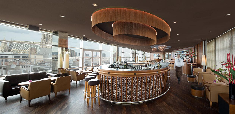 SKY Bar Vienna STEFFL Department Store American Bar