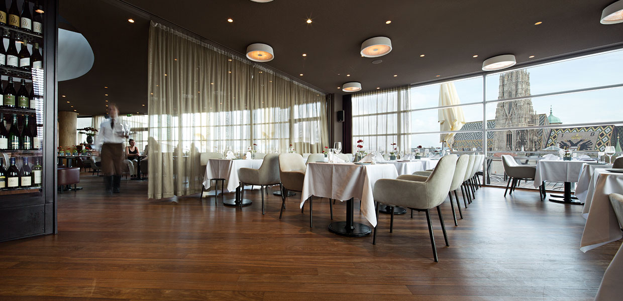 SKY Bar Restaurant Vienna STEFFL Department Store