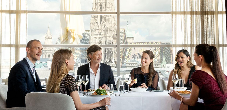 SKY Bar Restaurant Vienna STEFFL Department Store