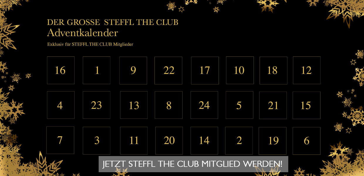 STEFFL THE CLUB Adventkalender