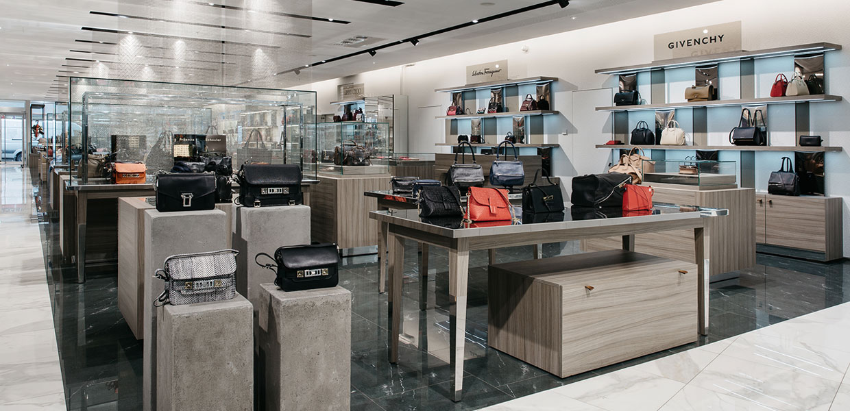 Accessories and Bags Department STEFFL Department Store