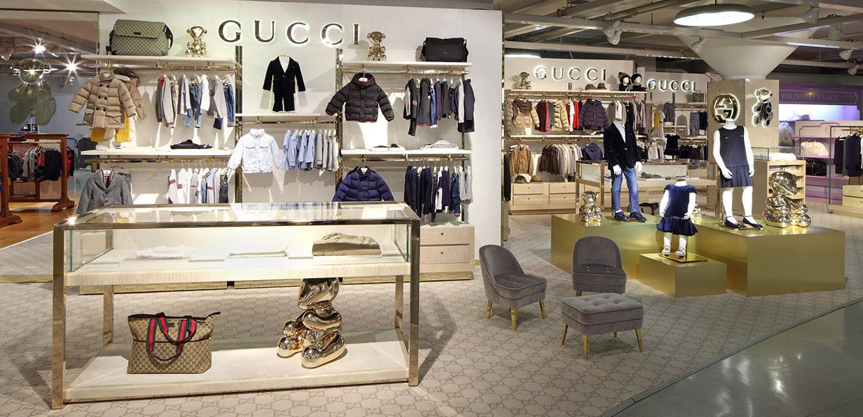 Kid's Department Gucci Corner
