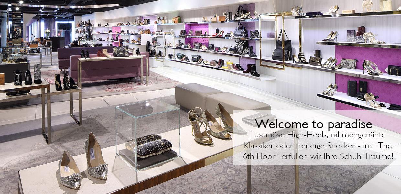 Schuhe für Damen, Herren und Kinder finden Sie im 6th Floor im STEFFL Department Store