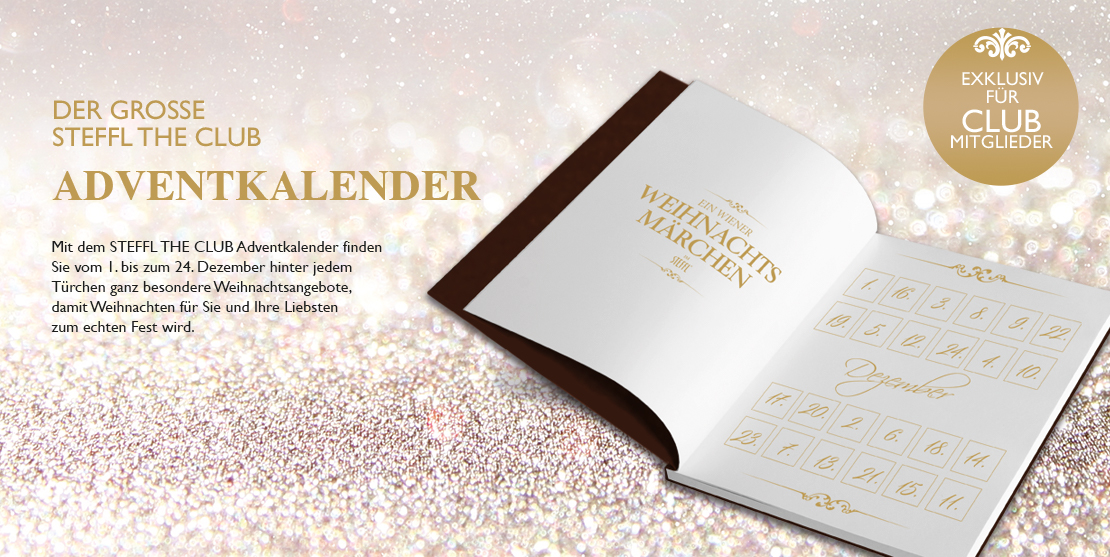 DER GROSSE STEFFL THE CLUB ADVENTKALENDER